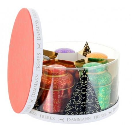 Ceai Dammann cutie cadou COULEURS DE NOEL