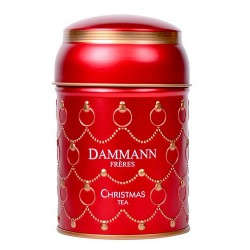 Ceai Dammann cutie cadou CHRISTMAS TEA ROUGE