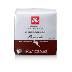 Cafea Illy 18 capsule iperespresso Guatemala cu cofeina