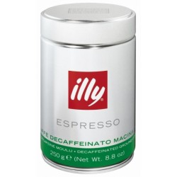 illy Espresso macinata decafeinizata 250gr